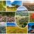 Toskana · manzara · sarı · gökyüzü · İtalya · ev - stok fotoğraf © master1305