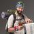 портрет · мужчины · туристических · рюкзак · камеры · серый - Сток-фото © master1305