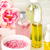 Spa setting with pink roses and aroma oil, vintage style  stock photo © master1305