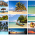 collage of beach holiday scenes stock photo © master1305
