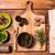 szett · izolált · fehér · fém · agy · kagyló - stock fotó © master1305