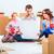 szczęśliwą · rodzinę · naprawy · rodziny · mieszkanie · pola · domu - zdjęcia stock © master1305