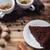 csésze · kávé · fahéj · fekete · csokoládé · közelkép - stock fotó © master1305