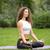 matin · yoga · méditation · plage · sport - photo stock © master1305