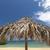 colorido · guarda-chuva · praia · tropical · azul · mar · brilhante - foto stock © master1305