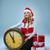 nina · sombrero · Navidad · decoración - foto stock © master1305