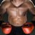 muscular young caucasian boxer wearing boxing gloves stock photo © master1305
