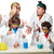 ragazzi · insegnante · chimica · lezione · isolato - foto d'archivio © master1305