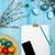 карандашей · деревенский · деревянный · стол · Top · мнение · школы - Сток-фото © master1305