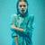 portré · fiatal · gyönyörű · nő · eső · lány · áll - stock fotó © master1305