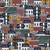 vector seamless flat pattern with different city buildings city background stock photo © maximmmmum