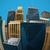 illusztráció · panorámakép · halszem · lencse · városkép · kilátás - stock fotó © maximmmmum