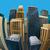 illusztráció · halszem · lencse · városkép · kilátás · város - stock fotó © maximmmmum