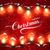christmas lights vector holiday illustration stock photo © maximmmmum