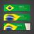 abstrato · geométrico · Brasil · bandeira · útil · cobrir - foto stock © maximmmmum