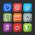 iconen · web · mobiele · toepassingen · ontwerp · lang - stockfoto © maximmmmum