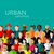 vector flat illustration of society members with a large group of men and women population urban stock photo © maximmmmum