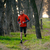 young man running on the trail in the wild forest stock photo © maxpro