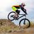 profesyonel · bisikletçi · binicilik · bisiklet · aşağı · tepe - stok fotoğraf © maxpro