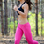 fiatal · sportoló · fut · tavasz · erdő · nyom - stock fotó © maxpro