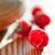 fresh ripe sweet raspberry on the wooden background fresh organic food stock photo © maxpro