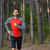 young man running on the trail in the wild pine forest active lifestyle stock photo © maxpro