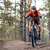 cyclist riding the bike on the trail in the forest extreme sport stock photo © maxpro