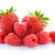 Heap of Sweet Strawberries and Juicy Raspberries Isolated on White Background. Summer Healthy Food C stock photo © maxpro
