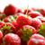 close up of fresh sweet strawberries stock photo © maxpro