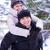 jovem · belo · casal · diversão · sorridente - foto stock © maxpro