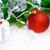 Рождества · украшение · красный · мяча · зеленый · ель - Сток-фото © maxpro