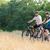 sport · pár · lovaglás · hegy · biciklik · boldog - stock fotó © maxpro