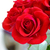 bouquet of beautiful red roses on light background greeting card for womens day 8 march stock photo © maxpro