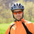 portrait of young cyclist in helmet stock photo © maxpro