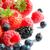 big pile of fresh ripe sweet berries on white background stock photo © maxpro