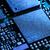 kék · mikrocsip · elektronikus · közelkép · részlet · nyáklap - stock fotó © maxpro