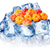 frozen cloudberries isolated stock photo © maxsol7