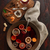 вино · оранжевый · Ломтики · корицей · дерево · очки - Сток-фото © maxsol7
