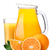 pitcherwith highball of orange juice stock photo © maxsol7