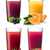 glasses with smoothies and juice stock photo © maxsol7