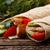traditioneel · kip · groenten · tabel · diner - stockfoto © maxsol7