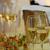 champán · coupe · gafas · atención · selectiva · vino · botella - foto stock © maxsol7