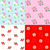 seamless patterns with rose and heart stock photo © mayamy