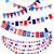 ingesteld · amerikaanse · decoraties · communie · landschap · vlaggen - stockfoto © Mayamy