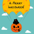 halloween greeting with funny cat stock photo © mayamy
