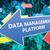 データ · 管理 · プラットフォーム · 手 · 社会 - ストックフォト © mazirama
