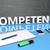 kompetencia · 3d · render · kék · fehér · nyilak · repülés - stock fotó © mazirama