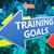 training goals stock photo © mazirama
