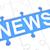 diariamente · notícia · azul · quebra-cabeça · branco · negócio - foto stock © mazirama