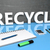 terra · riciclare · simbolo · lavagna · disegno · riciclaggio - foto d'archivio © mazirama